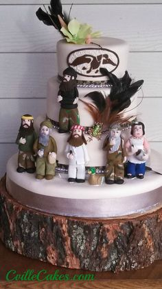 My Duck Dynasty Birthday cake! Thank you Cakes Unlimited.    cvillecakes.com
