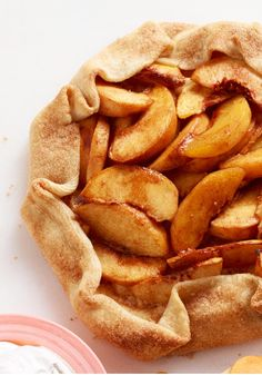 Freestyle Peach Tart -- Want in on the juicy truth? This delectable dessert recipe is almost too easy. Cinnamon, cream cheese and fresh peaches bake up into a bubbly masterpiece.