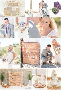 Coastal Themed Weddi