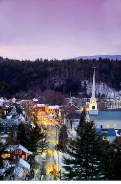 Stowe Vermont ~ wonderful place (von Trapp Family Lodge is there)