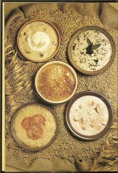An Assortment of Porridges.   Seriously.  Feeling tired?  Depressed?  I am.  Enjoy.