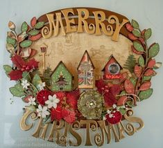 Graphic 45 paper: Deck the Halls with Christmas Home Decor