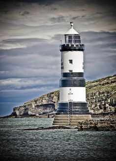 Penmon Point Lighthouse, Isle of Anglesey, Wales