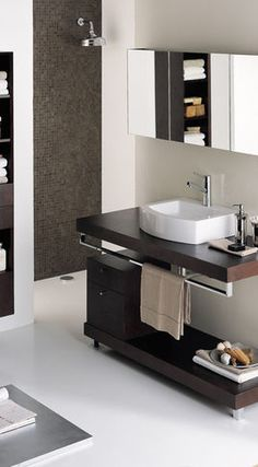small version of this Bathroom Vanities And Sink Consoles Exposed Pipe