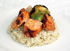 Red Curry Chicken Skewers