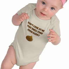 My daddy Poop Baby Infant Organic Clothes