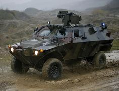Otokar cobra. Double park it and see who leaves a note. #badass