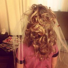 First Communion Hair