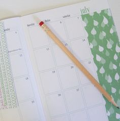 Product: Planner  Company: Etsy.com  -This planner is made from recycled white text paper and recycled white linen for the cover! So cute! Awesome! Great, reusing something everyday! #greendorm