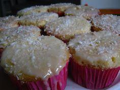O Mundo de Calíope: Cupcakes de Côco