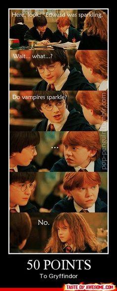 Gryffindor wins! hahaha