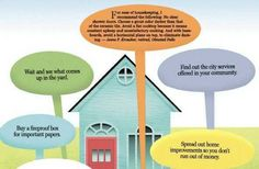 """New homeowner tips from homeowners who have """"been there""""."""