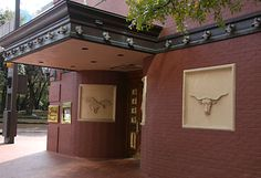 """Del Frisco's Double Eagle Steakhouse. This area was known as """"Hell's Half Acre,"""" sin city of the 19th/early 20th century. Believed to be haunted by a gambler, wrongly killed. favorit place, fort worth, worth tx, del frisco, haunt stuff"""