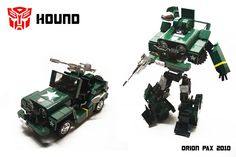 "LEGO G1 Hound by ""Orion Pax"", via Flickr"