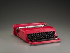 Valentine Typewriter for Olivetti, Perry A. King, 1969. © Ettore Sottsass