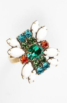 Need this bling: Dannijo 'Remi' cocktail ring