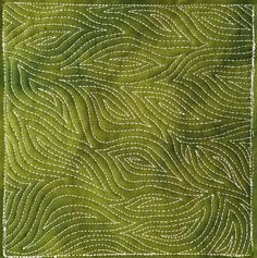 Check  out this cool Blazing Spiral free motion quilting design by Leah Day - http://freemotionquilting.blogspot.com/2014/04/431-free-motion-quilt-blazing-spiral.html