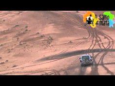 Subida de la Gran Duna de Erg Chebbi en el Sahara Marroquí por primera vez por una persona con movilidad reducida. También fue bajada por primera vez con silla de ruedas. Si quieres, puedes