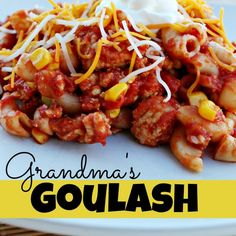 Grandma's Goulash....Ground Turkey