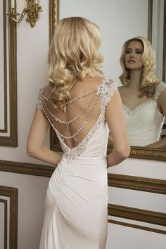 Fit and Flare Wedding Dress from Justin Alexander