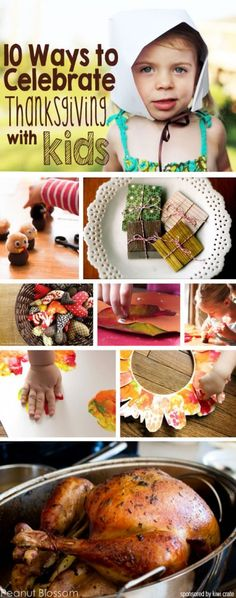 Great list of crafts & activities. *Keep kids entertained while prepping this year's Thanksgiving meal