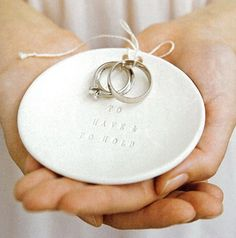 Ring warming ritual - At the beginning of the ceremony the rings are passed around to the guests for them to give their well-wishes, positive intentions, or say a little prayer for us as they warmed the rings and passed them along to the next person.