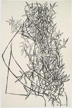 Ben Shahn, Blind Botanist, 1954 | Harvard Art Museums/ Fogg Museum