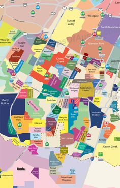 South Austin Neighborhood Map