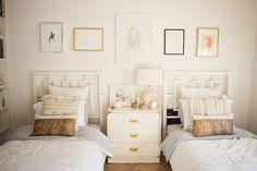 Sweet shared little girls room