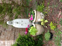 My Virgin Mary garden