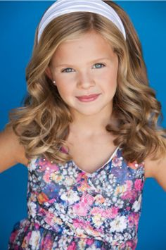 Beautiful Joey McDowell Child Model, First Models and Talent Agency, Inc.