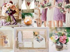 purple southern wedding inspiration (no, not getting married...just love the purple and green!)