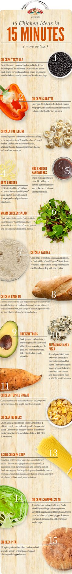 15 Chicken Recipes in 15 Minutes (More or Less) | Land O'Lakes