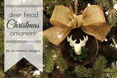 Deer Head Christmas