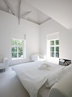 lovely airy bedroom