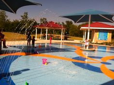 Splash Pads Around Austin - 2012 Schedules