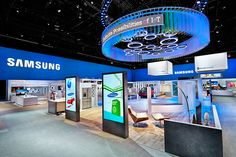 Samsung Main Exhibit