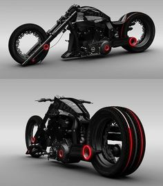 Outrageous Lochness Concept Chopper this is sweet!