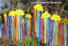 From Pinterest to Real Life: Paper Plate Sun and Rainbows::Teaching The Little People