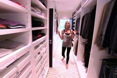 Tour Caroline's Closet