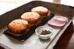 Cedar Planked Salmon Burgers