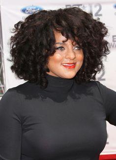 Love her hair!!!!