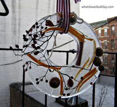 Favorite Winter Craft: Ice Wreaths (interesting)