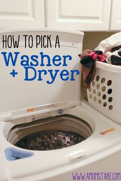 How to Pick a Washer and Dryer set! #Washer #Dryer #Laundry