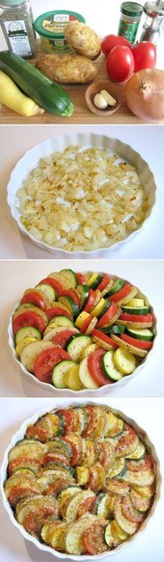 summer vegetable bake