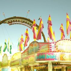Candy colored carnival