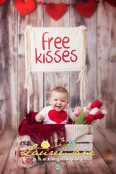 baby valentines day photography - Google Search