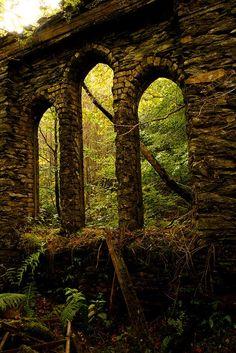 Ancient Arches, Tal-y-waenydd, Wales  photo via yvonne