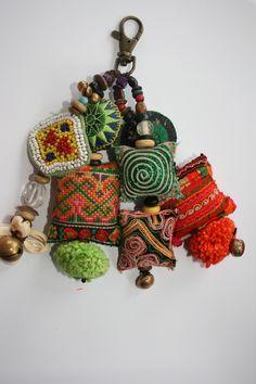 Handmade key ring tassel... crochet idea