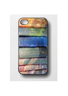 Harry Potter Book Set iPhone 4 /4S Case by CreativeCustomPrints, $16.98 this is why I need an iPhone!